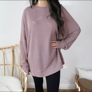 Slouchy lazy oversized pullover sweater